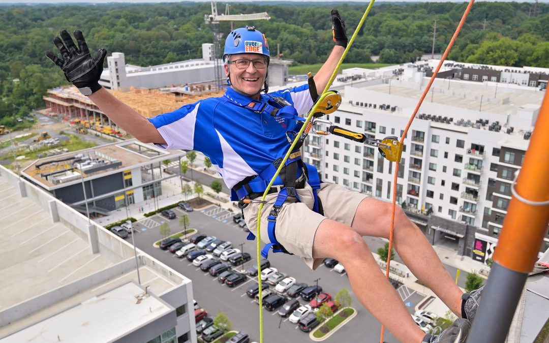 Inaugural Over the Edge Event Reaches Great Heights